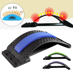 Multi-Level Back Stretching Support Device Blue