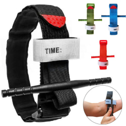 Outdoor One Hand Tourniquet Combat Application First Aid Handed black