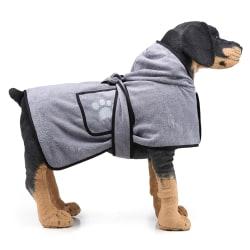 Pet Hooded Badrock Handdukrock Valp Snabbtorkande Kläder