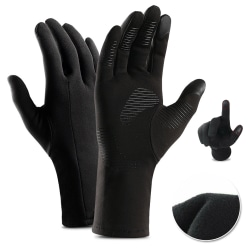 Men Winter Warm Windproof Cycling Anti-slip Screen Biker Gloves S