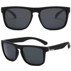 3 par fyrkantiga solglasögon herr solglasögon utomhusglasögon Black Frame Black Lenses 3pair