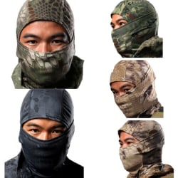 Tactical Military Camo Full Masks Army Cycling Outdoor Ski Sport Police black