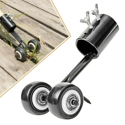 No Bending Weeds Snatcher Weeding Hook Puller Down Remover Tool Black