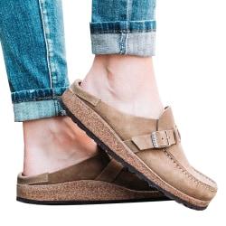 Kvinnors loafers Pump Slip On Flat Heels Casual Skor Comfy Fashion