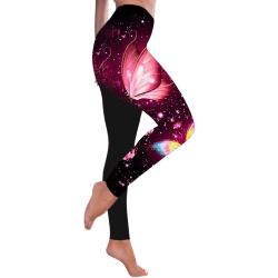 Women Yoga Leggings Fitness Gym Sports Pants Skinny Trousers B M