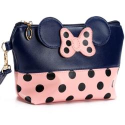 Womens Polka Dot Travel Väska Case Pouch Clutch Väska HandVäska