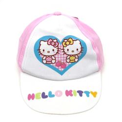 Hello Kitty Baseboll Keps Vit/rosa storlek 48 Rosa