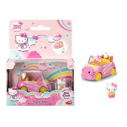 Hello Kitty Dazzle Dash Kitty Pretzel Bil - Dickie Toys Rosa