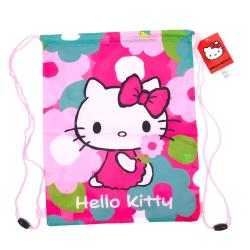 Hello Kitty Gym/sko Påse Rosa one size
