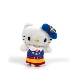 Hello Kitty Mjukis 9 cm Vit