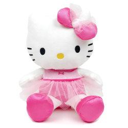 Hello Kitty Mjukis Ballerina 28 cm Rosa