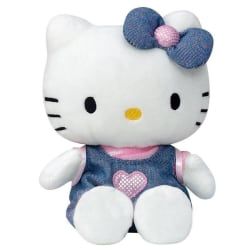 Hello Kitty Mjukis Gosedjur 15 cm Blå
