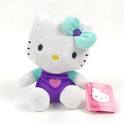 Hello Kitty Mjukis Gosedjur  Lila 15 cm Vit