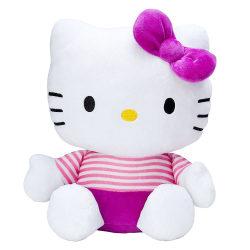 Hello Kitty Mjukis Gosedjur Lila 25 cm Vit