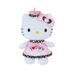 Hello Kitty Mjukis Gosedjur  Paris 18 cm Vit