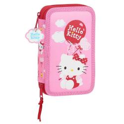 Hello Kitty Pennfodral 28 delar - Ballong Rosa