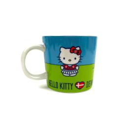 Hello Kitty Porslinsmugg multifärg