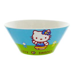 Hello Kitty Porslinsskål multifärg