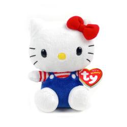 Hello Kitty TY Mjukis Gosedjur 15 cm Vit