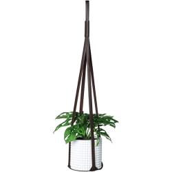 30 tum läder växthängare hängande planter blomkrukare h