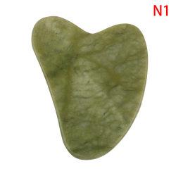 gua sha jade stone face board N1