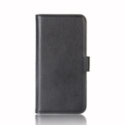Fodral i Äkta Läder till Samsung Galaxy Note 9 - Svart
