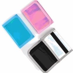 3 delar plånbok glitter