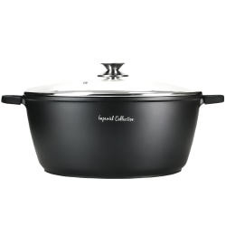 36cm Die Casting Casserole with Silicone Handles