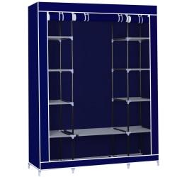 Herzberg HG-8009: Garderob - Blå blå