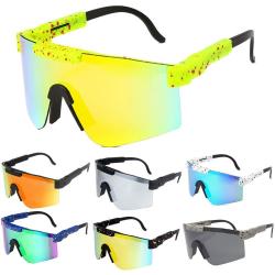Cykel Sport Goggle solglasögon TR90 ram polariserad G  C07
