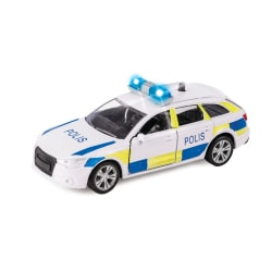 Cars Bilar Bil Police - Polisbil 12cm C Light & Sounds