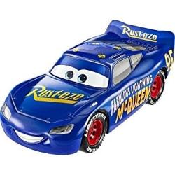 Disney Cars 3 Bilar Pixar Mattel Metall Fabulous Mcqueen blå 1:5
