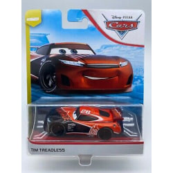 Disney Cars 3 Bilar Pixar Mattel Metall Maki Tim Treadless Metal