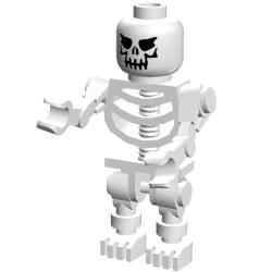 LEGO Figur - Skelett Spöke  LF25-2