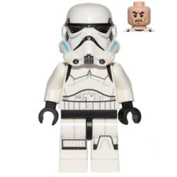 Lego Figur Star Wars Stormtrooper Printed Legs Azure Helmet LF53