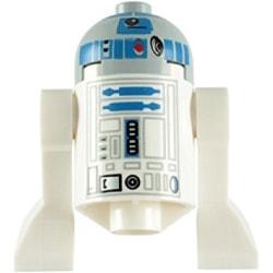 Lego Figurer Disney Star Wars R2D2 - R2-D2 Grå topp LF50-91
