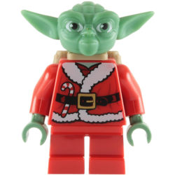 Lego Figurer Disney Star Wars Yoda Santa Tomte LF50-46