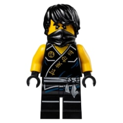 LEGO Ninjago Figur COLE Tournament Robe LF53-1