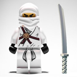 LEGO Ninjago Figur  - Zane Vit klassiska LF51-39