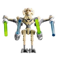Lego Star Wars Figurer General Grievous Grå Beige STW1-1