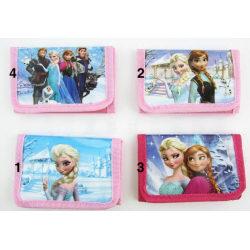 Leksaker Frost Frozen Börs Wallet Plånbok Välj 2. Ljusrosa Elsa o Anna