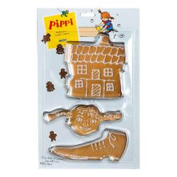 Leksaker Micki Pippi Långstrump 3st Bakformar