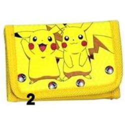 Pokemon Pikachu Gul Börs Wallet Plånbok Yellow PL42