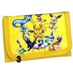 Pokemon Pikachu Gul Börs Wallet Plånbok Yellow PL44