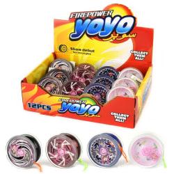 Robetoy Leksaker 26465 Jojo Yoyo metall med ljus Välj 4 Rosa