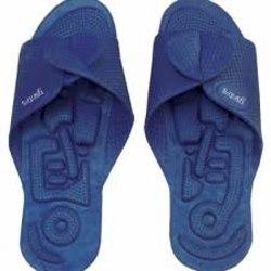 Yantra Twinflex sko sandal Toffel Vändbar - Mörkblå 34/37