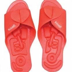 Yantra Twinflex sko sandal Toffel Vändbar - Röd 34/37