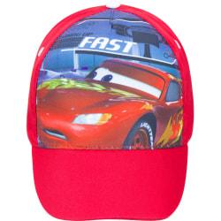 ZTR Keps Cap Hat Disney Pixar Cars Mcqueen Fast Röd 54cm