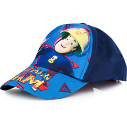 ZTR Keps Cap Kepsar Hat Baseball Fireman Sam Brandman Blå