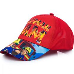 ZTR Keps Cap Kepsar Hat Baseball Fireman Sam Brandman Röd